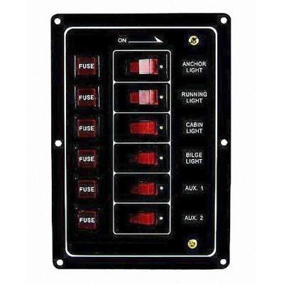 Панель на 6 переключ