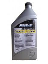 Масло трансмиссионное QuickSilver Gear Lube 1 литр