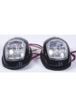 Навигационные огни LED, пара, черный корпус C91006PW-0