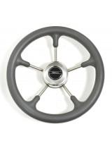 Рулевое колесо Pretech нержавейка 32 см серое
