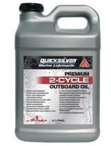 Масло для 2х такт двигателей QuickSilver Premium TC-W3 (Mercury), 10 литр