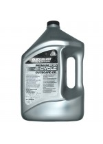 Масло для 2х такт двигателей QuickSilver Premium+ TC-W3 (Mercury), 4 литр