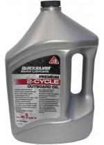 Масло для 2х такт двигателей QuickSilver Premium TC-W3 (Mercury), 4 литр