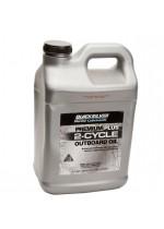 Масло для 2х такт двигателей QuickSilver Premium+ TC-W3 (Mercury), 10 литр